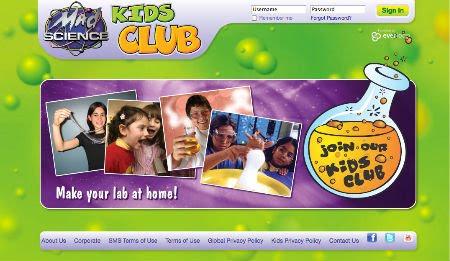 The Mad Science Kids Club – Vem aí rede social para crianças que gostam de ciências