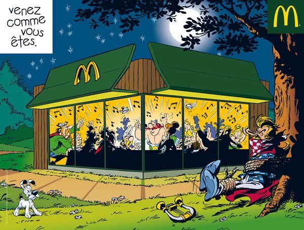 Asterix e Obelix no McDonald's – Sacrilégio, profanação, insulto?