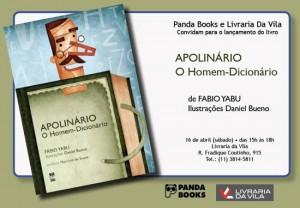 Fabio Yabu conta em versos a jornada de Apolinário, o homem que não admitia erros