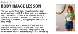 """Explicando para as crianças como o Photoshop cria a """"beleza perfeita"""" das modelos"""