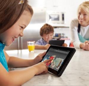 Amazon compra 450 títulos infantis para o seu tablet, o Kindle Fire